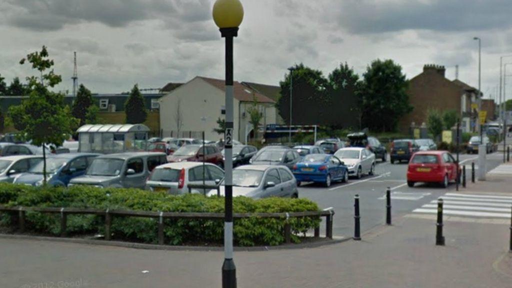 Morrisons Car Park Grays