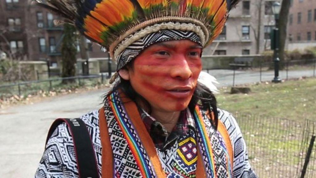 Culture shock for Amazon chief's son who left rainforest ...