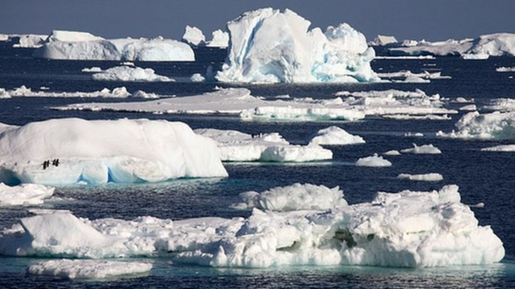 ice melting in antarctica If global warming causes the polar ice caps to melt if the polar ice caps melted, how much would the oceans the main ice covered landmass is antarctica at.