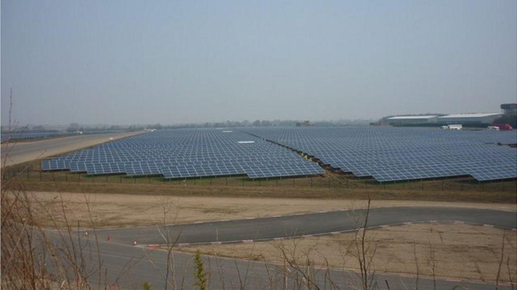 Wymeswold 163 35m Solar Farm Goes Live Bbc News