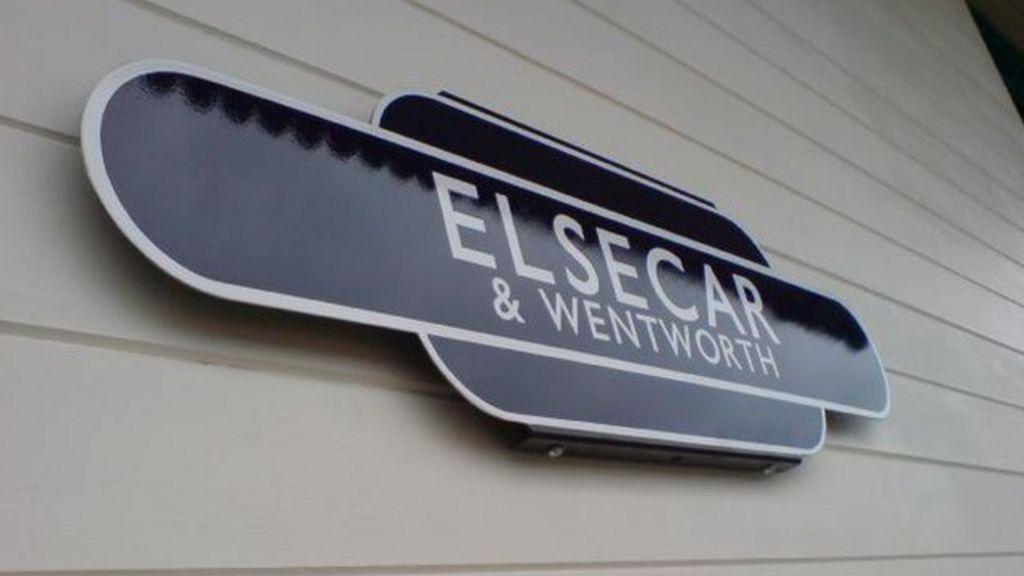 Elsecar Heritage Railway sign