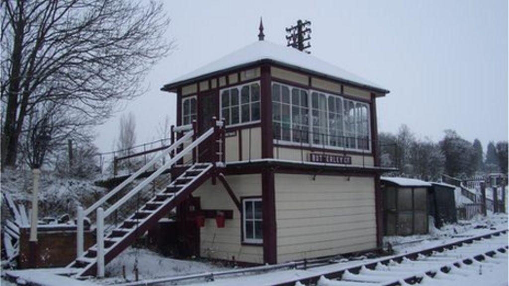 The signal box