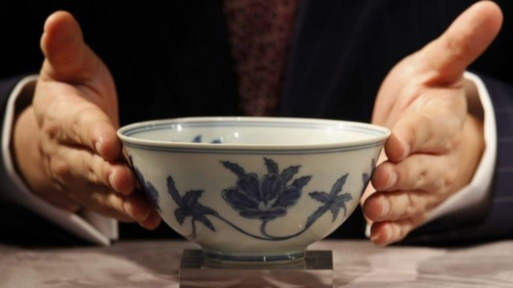 Rare Ming Bowl Sells For 18m At Auction Bbc News