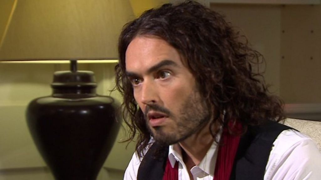 russell brand 39 i 39 ve never voted never will 39 bbc news. Black Bedroom Furniture Sets. Home Design Ideas