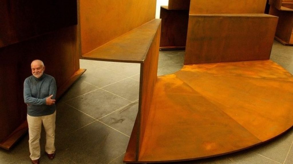 Sculptor Sir Anthony Caro dies - BBC News