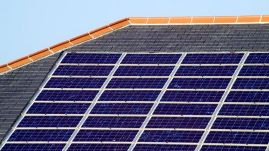 Solar Power Capacity In Scotland Rises By Third Bbc News