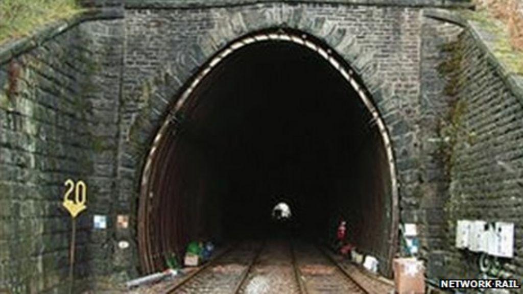 Holme Tunnel between Burnley and Hebden Bridge on the York-Blackpool railway line