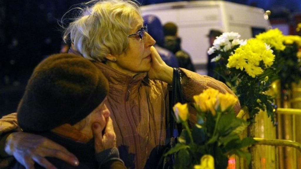 Latvia Mourns Victims Of Riga Supermarket Collapse Bbc News