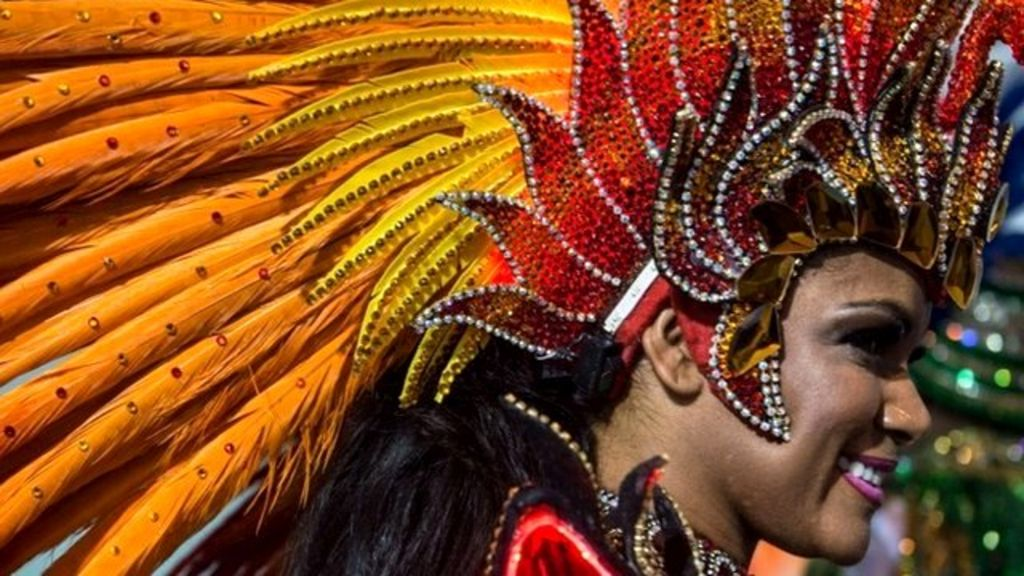 rio carnivals fantasy world of costumes bbc news