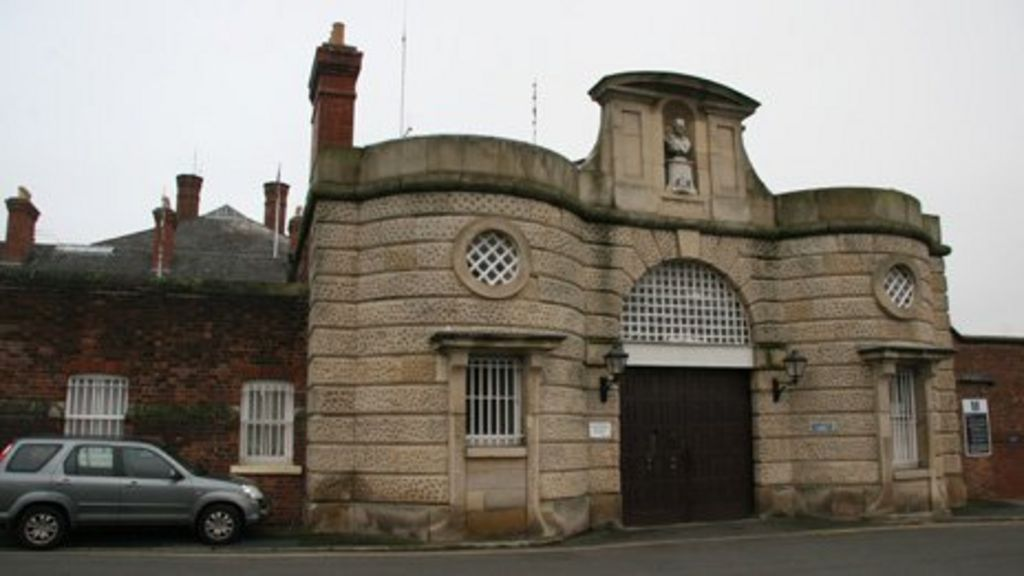HMP Shrewsbury, also known as the Dana, is put up for sale - BBC ...