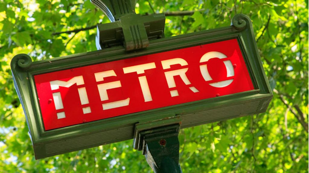 France: Driver 'tries to park' in metro station - BBC News
