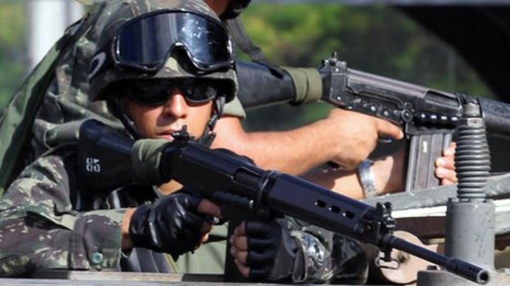 Brazil sends troops to Bahia state after police strike - BBC News