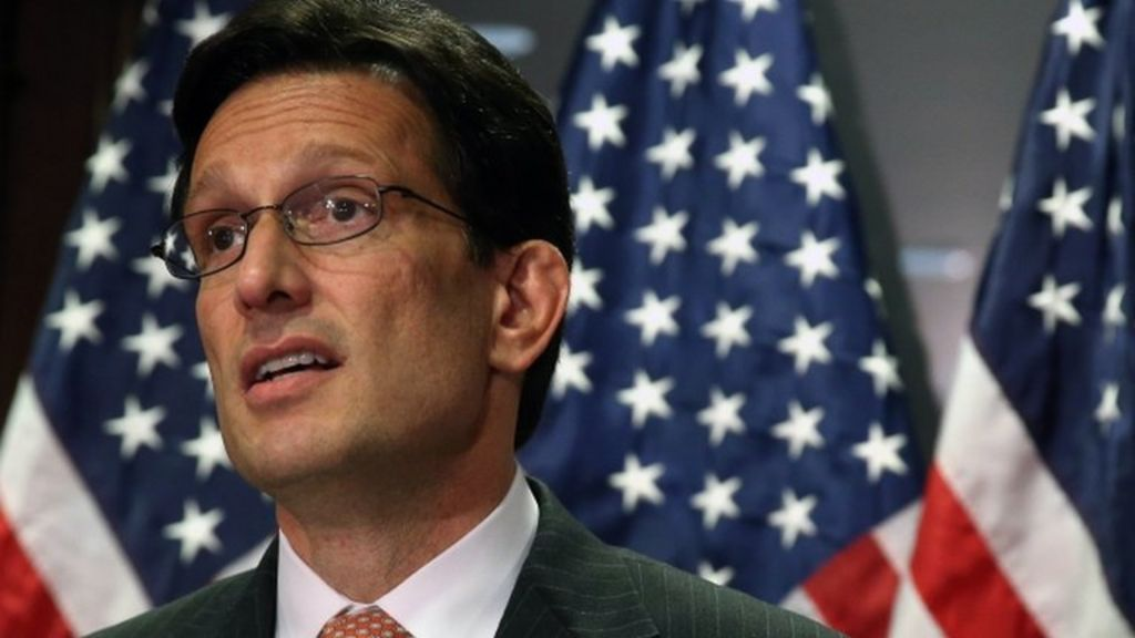 Eric Cantor loses Virginia Republican Party primary - BBC News