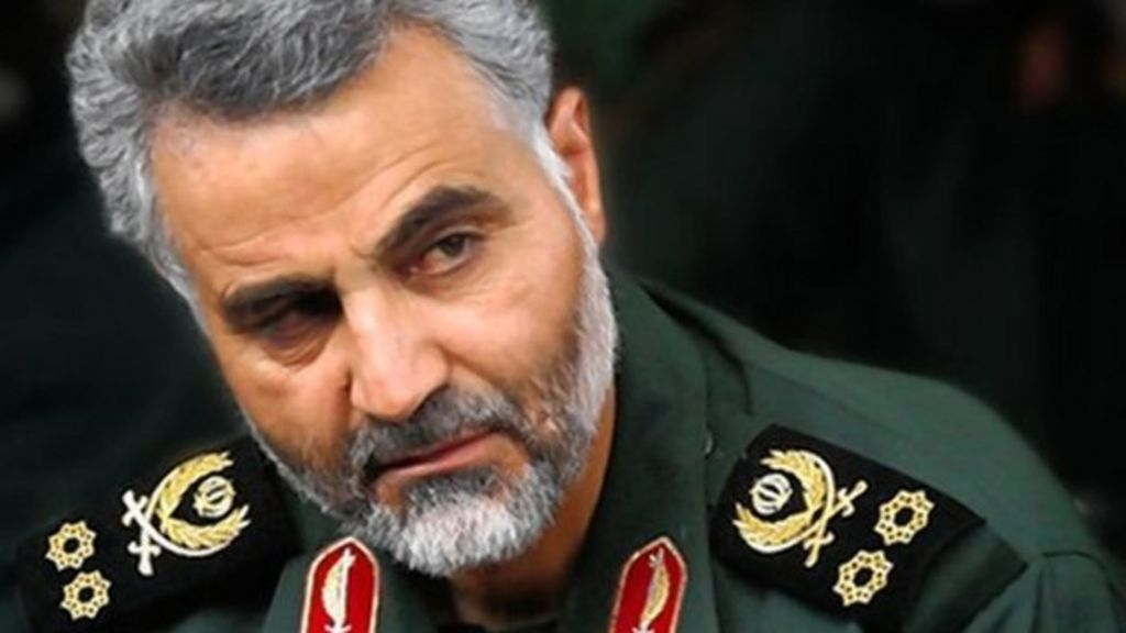 Sardar Soleimani blame United States for fall of the town of ...
