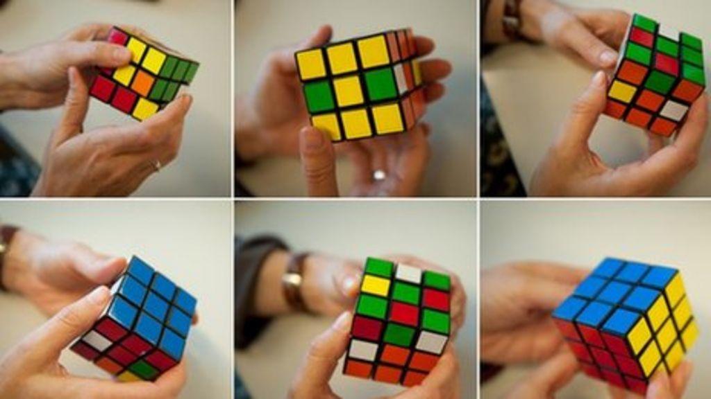 Lucas Etter 'solves' Rubik's Cube in five seconds - BBC News