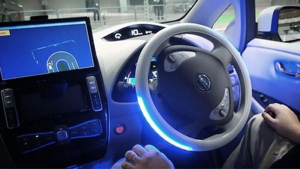 uk to allow driverless cars on public roads in january bbc news. Black Bedroom Furniture Sets. Home Design Ideas