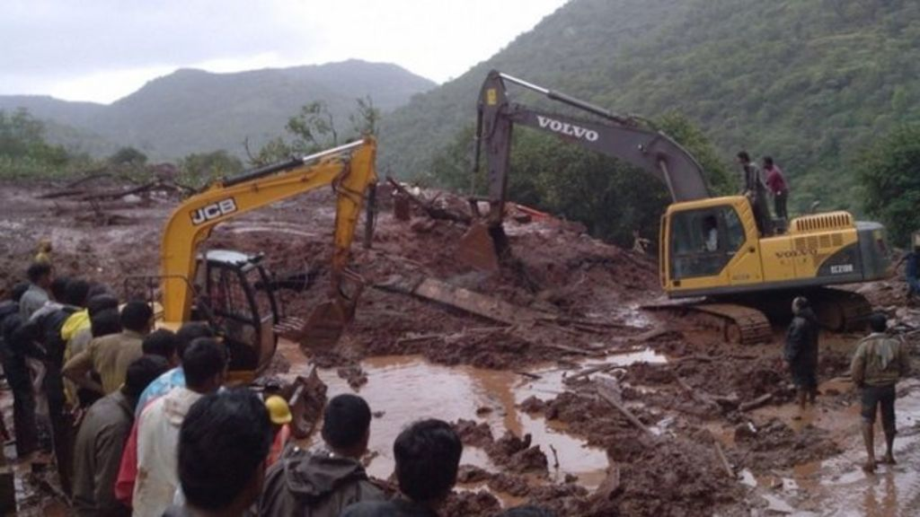 India landslide: Rescuers race to find survivors in Pune village as ...
