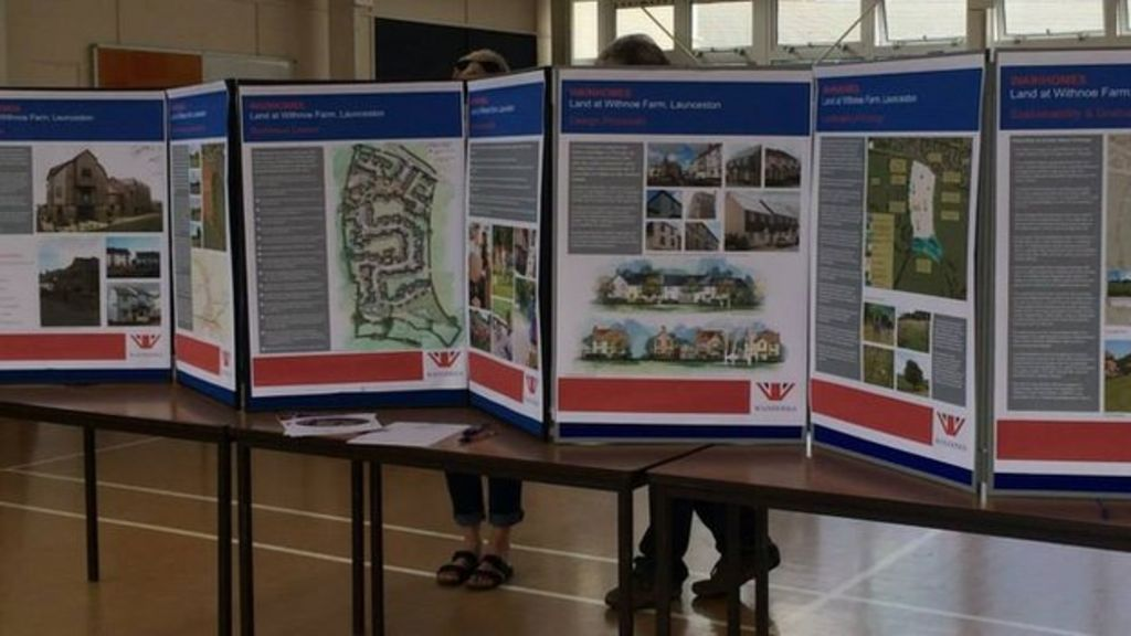 Plans for 129 new launceston homes unveiled bbc news for Home designs launceston