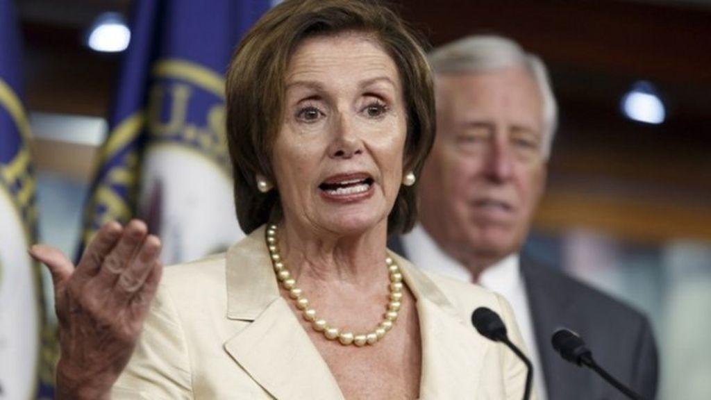 Obama lawsuit is 'a waste of money' - Democrat Nancy Pelosi - BBC ...
