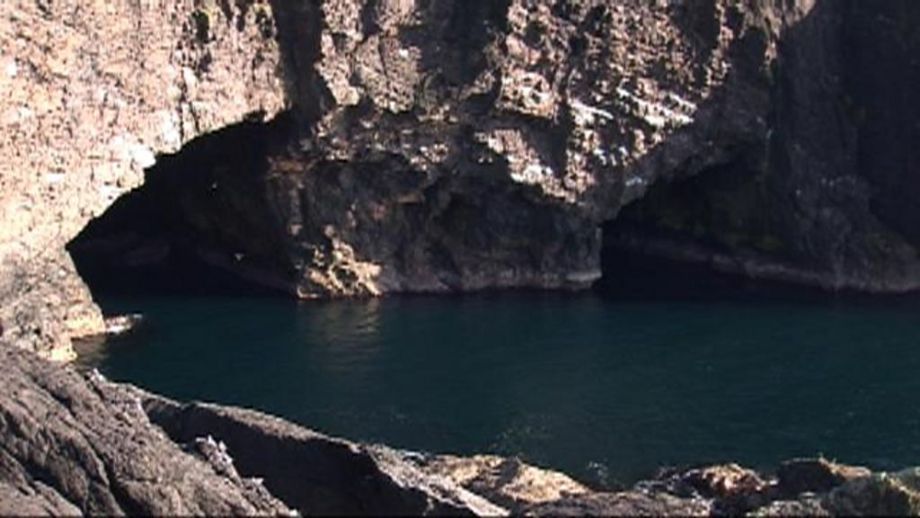 Eshaness Sea Cave Is Largest In Britain BBC News