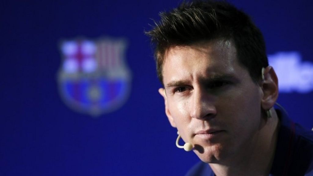 Barcelona star Lionel Messi to face tax evasion trial - BBC News
