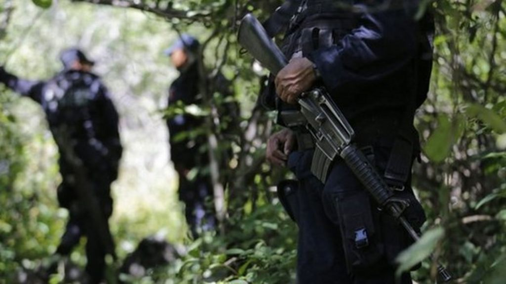 Mexico missing students: New mass graves found in Iguala - BBC ...