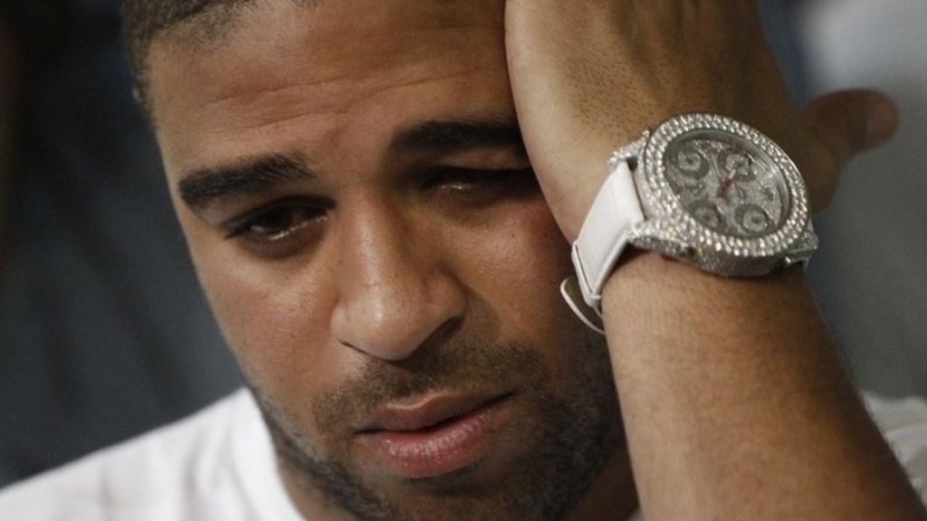 Brazilian footballer Adriano charged with drug links - BBC News