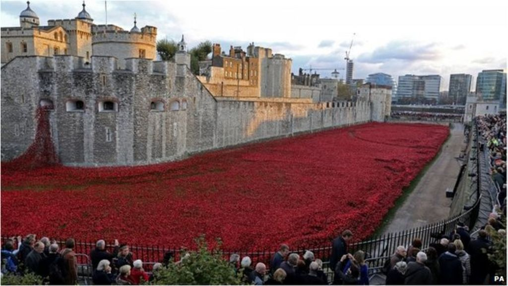 Tower of London Poppies Field Tower of London Poppies Final