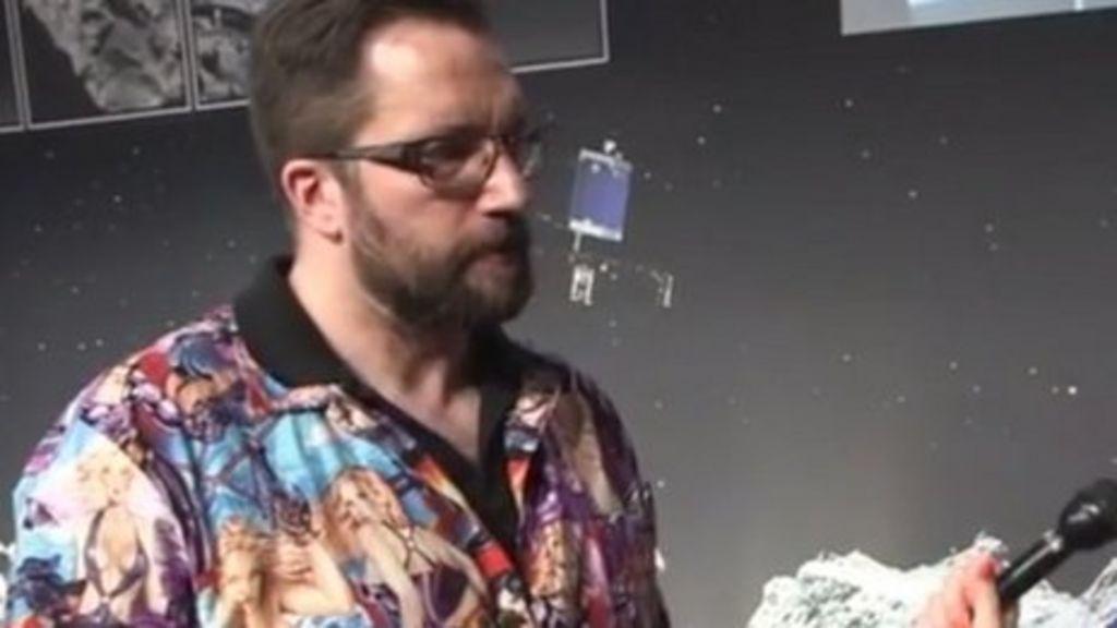 Bbctrending Rosetta Physicist 39 S 39 Sexist 39 Shirt Bbc News