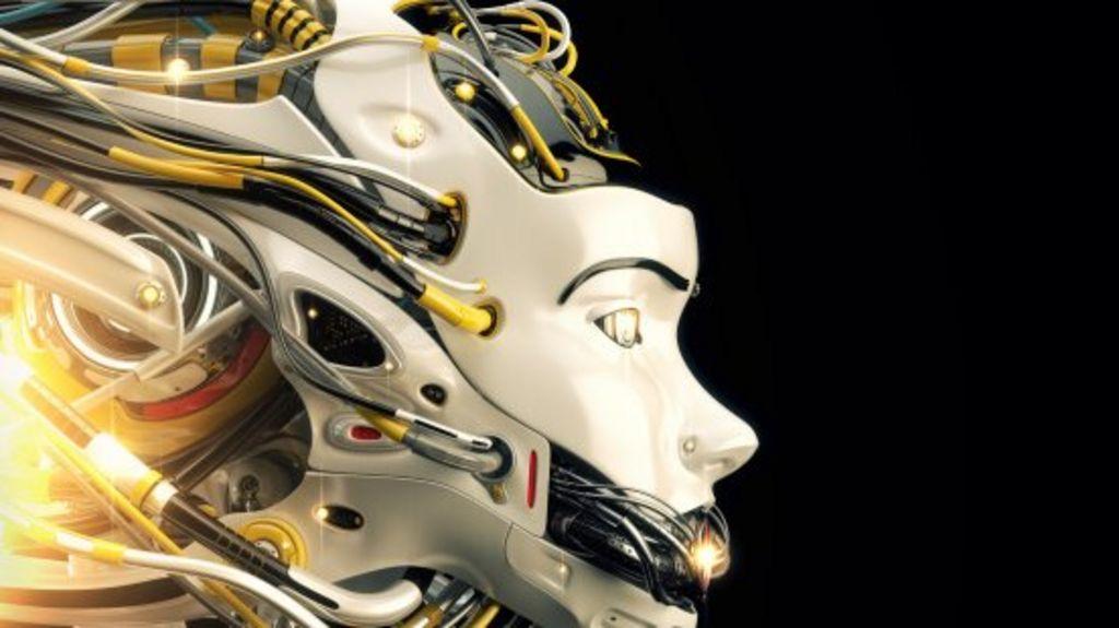 When Will Man Become Machine. - Magazine cover
