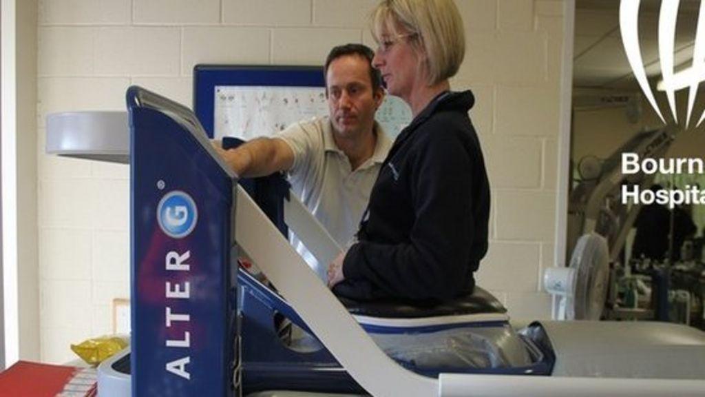 NASA treadmill at Bournemouth hospital helps injured walk ...