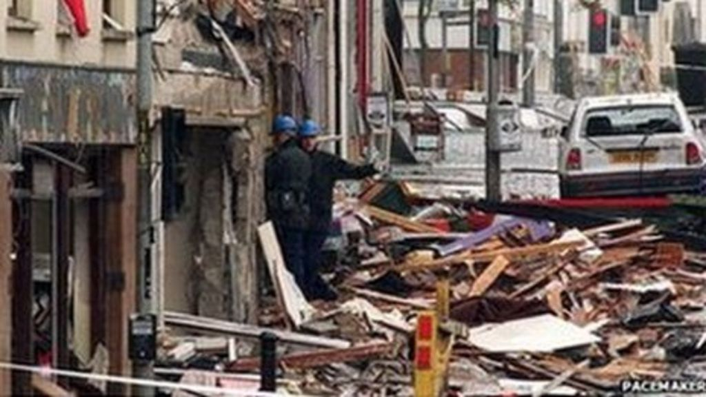 omagh bombing Omagh bombing case collapses police stand in the rubble after a car-bomb  ripped through the market town killing over twenty people august 15 republican .