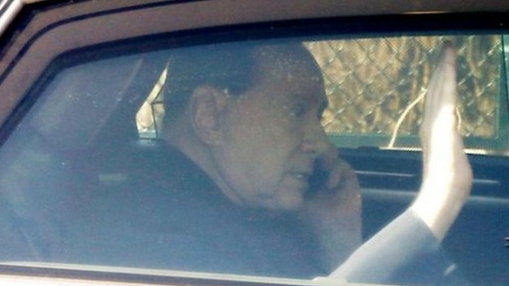 Italy's Silvio Berlusconi ends community service term - BBC News
