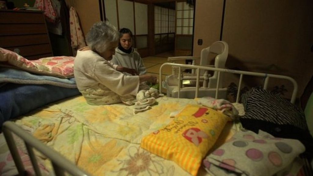 Who will look after Japan's elderly?