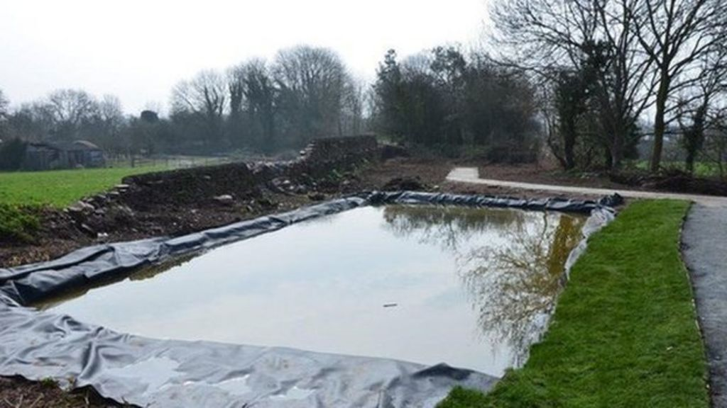 Archaeological dig could solve Somerset canal mystery - BBC News