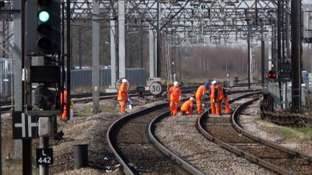 Network Rail staff