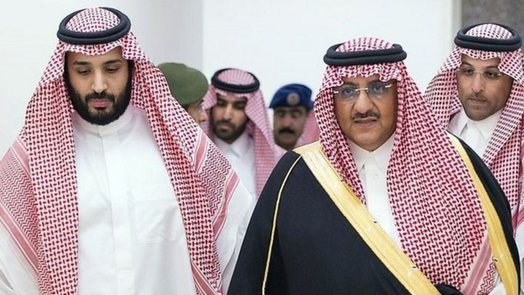 Saudi Arabia's king announces new heirs to throne - BBC News