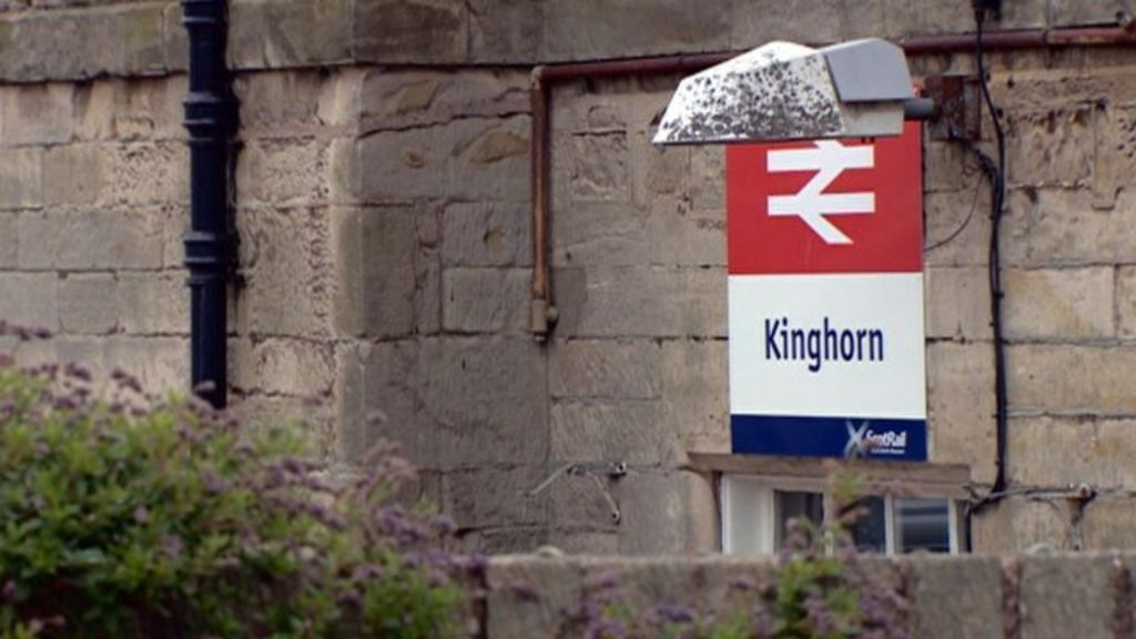 Kinghorn train station