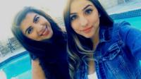 Diana Carrillo, left, and her sister, Brenda