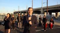 LA mayor Eric Garcetti sings