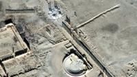 Palmyra satellite image 10 January