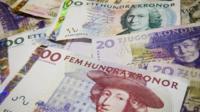 Swedish krona notes