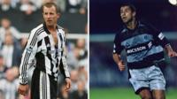 Lee Bowyer and Gavin Peacock