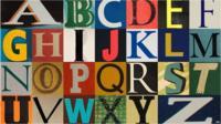 Stylised alphabet design
