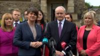 The new Northern Ireland Executive ministers