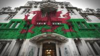 The Supreme Court and Welsh Flag