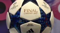 Champions League final ball