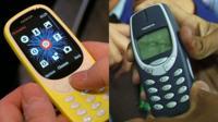 Un teléfono Nokia 3310 nuevo y uno original