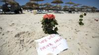 Beach at Sousse in Tunisia
