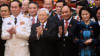 Ban lãnh đạo mới của Việt Nam sau Đại hội Đảng XII năm 2016